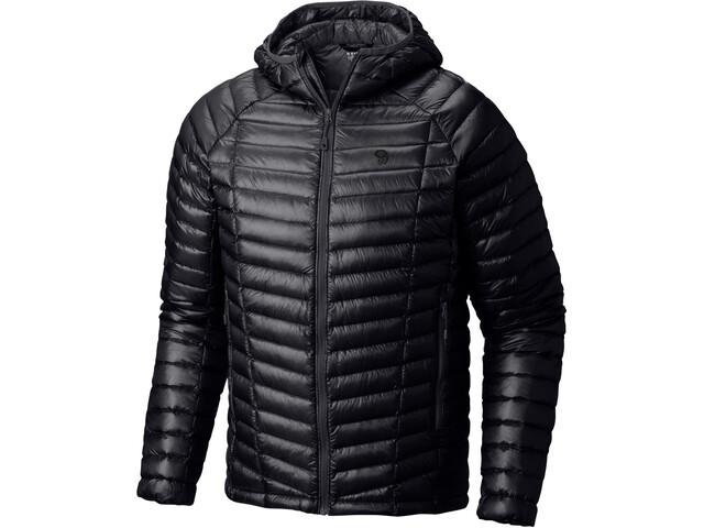 Mountain Hardwear M´s Ghost Whisperer Hooded Down Jacket Black